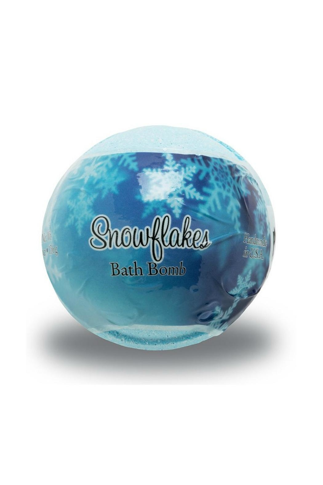 Primal Elements Snowflakes Bath Bomb - Front Cropped Image