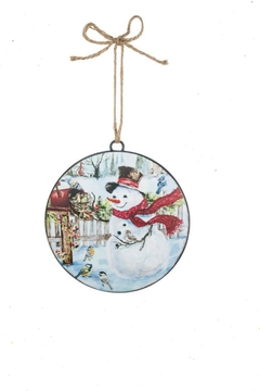 Sullivans Snowman-At-Mailbox Ornament - Alternate List Image