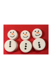 The Birds Nest SNOWMAN BATHBOMBS - Front cropped