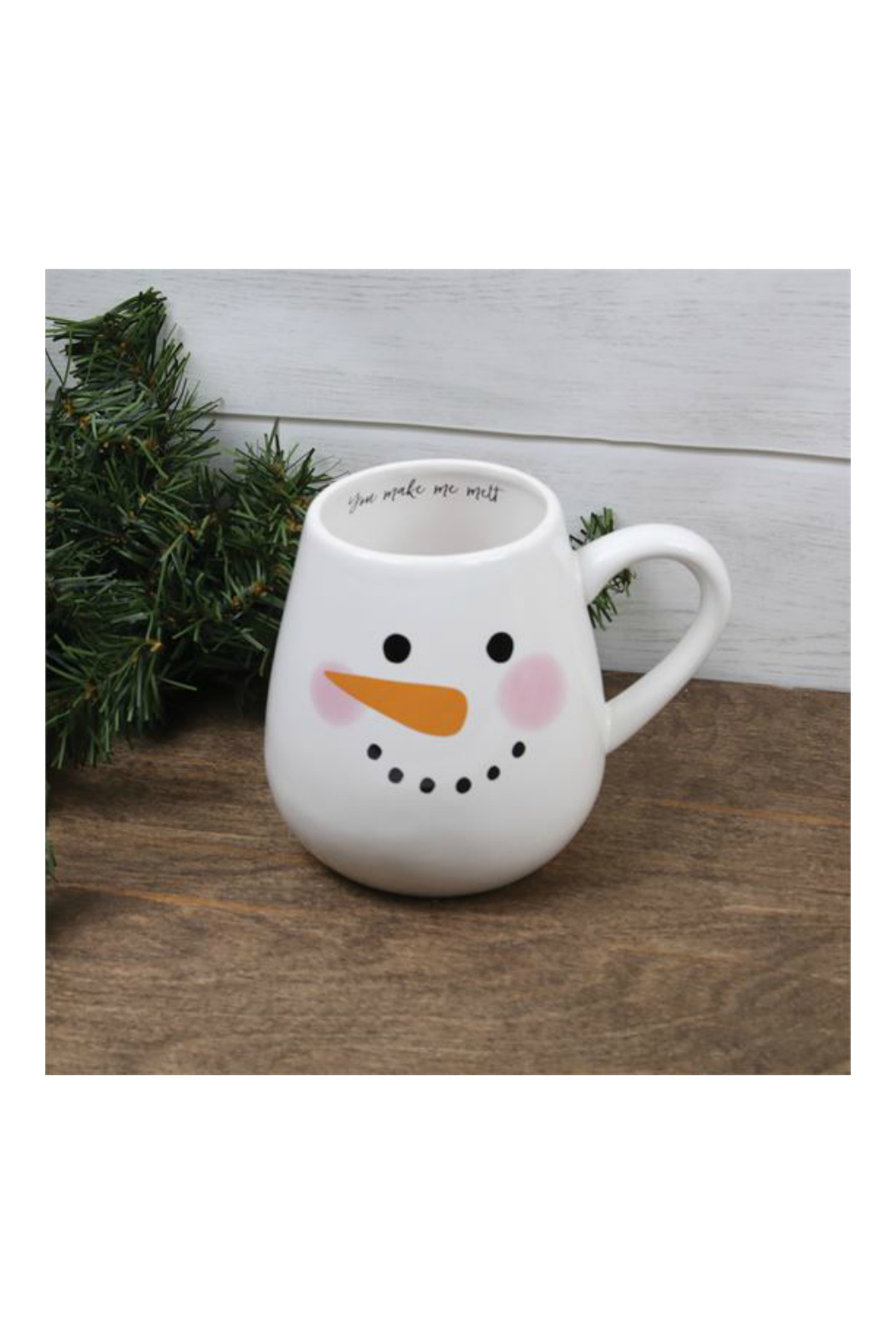 DEI SNOWMAN FACE MUG - Side Cropped Image