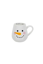 DEI SNOWMAN FACE MUG - Product Mini Image