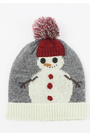 david and young Snowman Knit Beanie - Product Mini Image