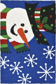 Jelly Bean Rugs Snowman Rug - Product Mini Image