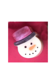 The Birds Nest SNOWMAN SOAP - Front cropped