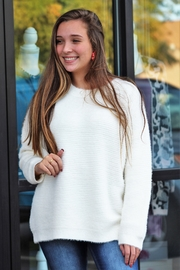 Papercrane Snowy Days Sweater - Front cropped