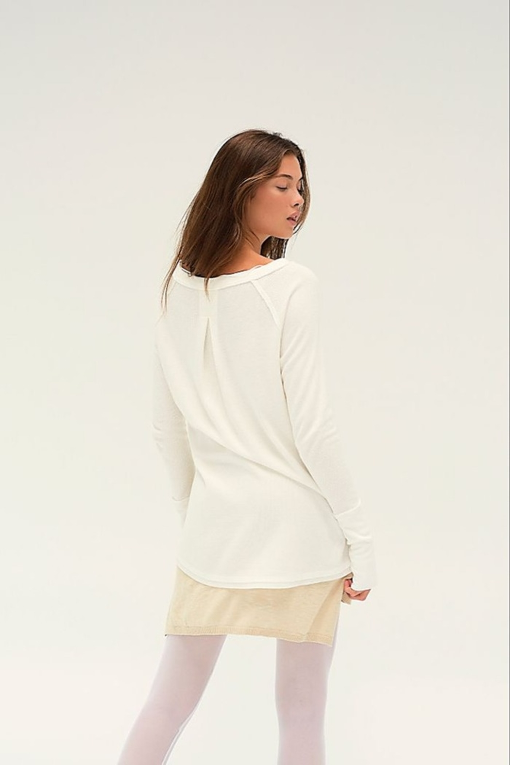 Free People Snowy Thermal - Side Cropped Image