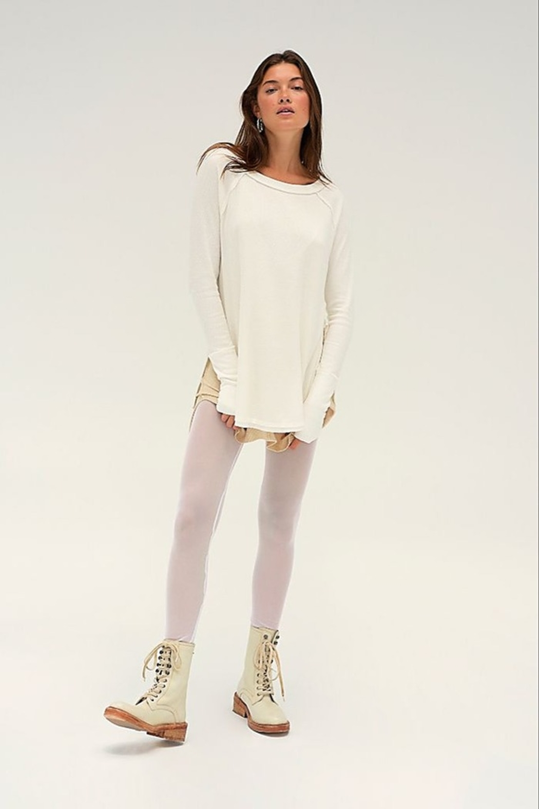 Free People Snowy Thermal - Front Full Image
