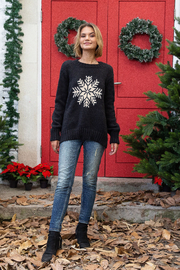 Wooden Ships Snowy Wish Crew - Black - Side cropped
