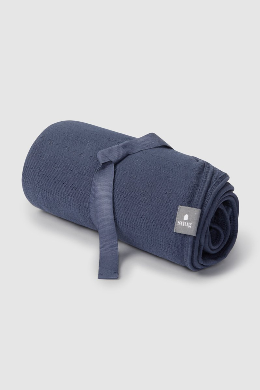 SNUG Baby Organic Cotton Ribbed Blanket - Front Cropped Image