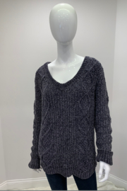 POL Snug Knit Sweater Ribbed - Product Mini Image