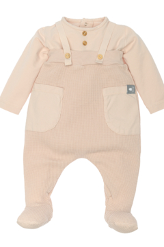 SNUG Pure Cotton Dungarees Body kit Waffle bibs for Newborns - Product List Image