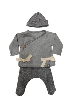 SNUG Pure Cotton Layette Set Jacket Pant & Cap - Product List Image