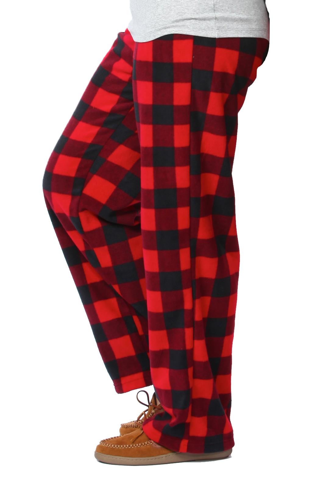 Snug As a Bug Canada Plaid Pant - Front Full Image