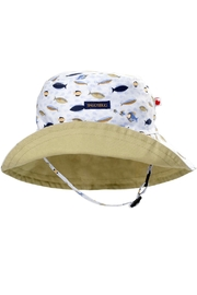 Snug As a Bug Fish Sun Hat - Product Mini Image