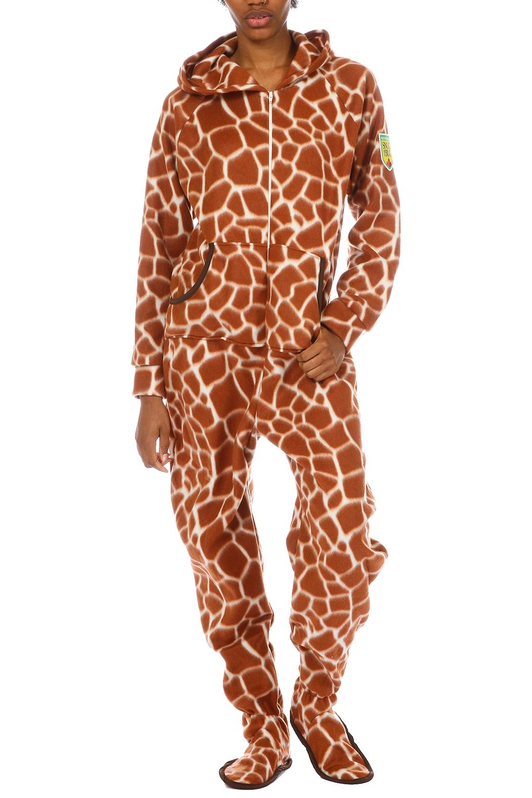 Snug As a Bug Giraffe Onesie - Main Image