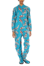 Snug As a Bug Sock Monkey Onesie - Front cropped