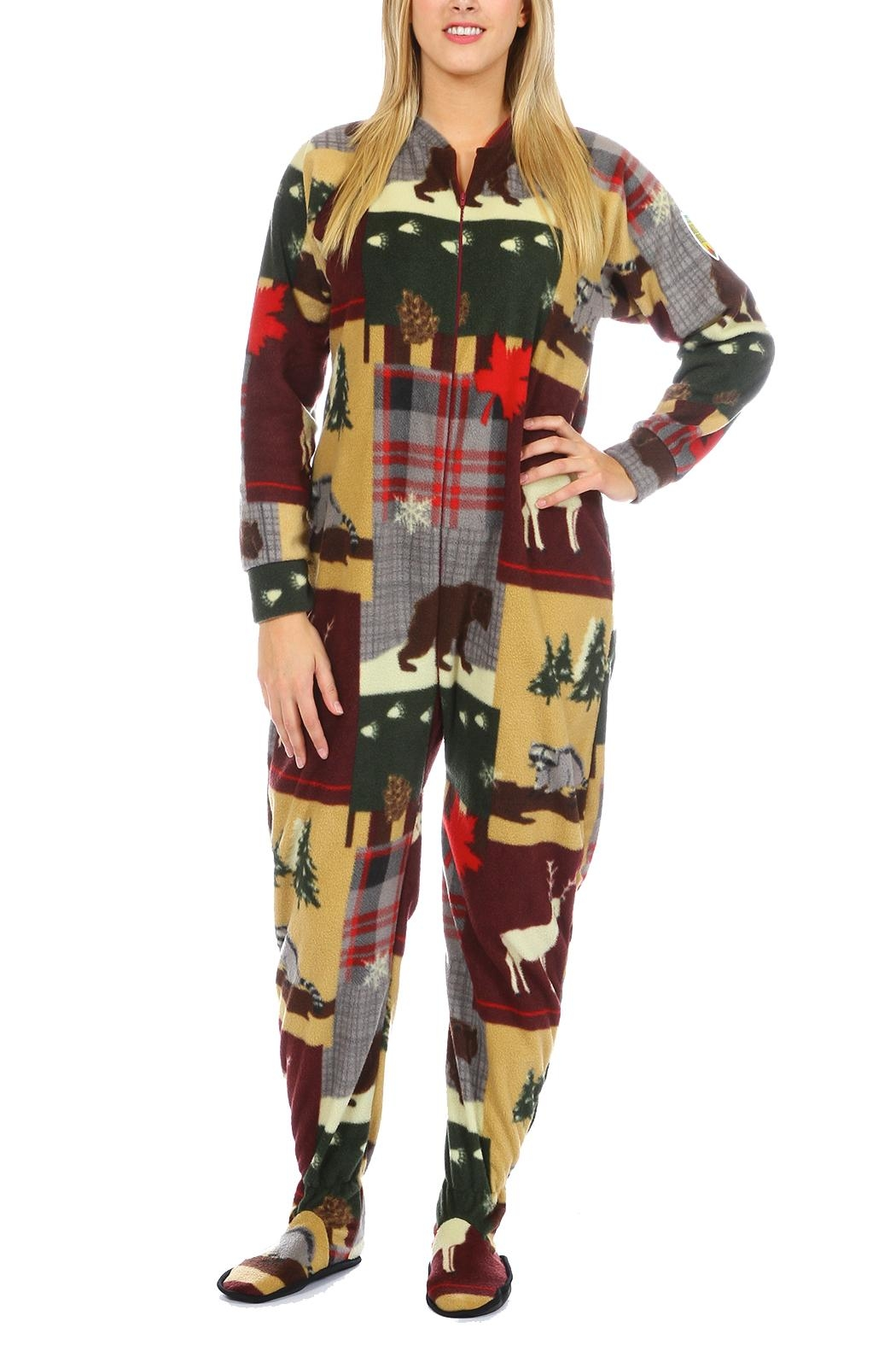 Snug As a Bug True North Onesie - Front Cropped Image
