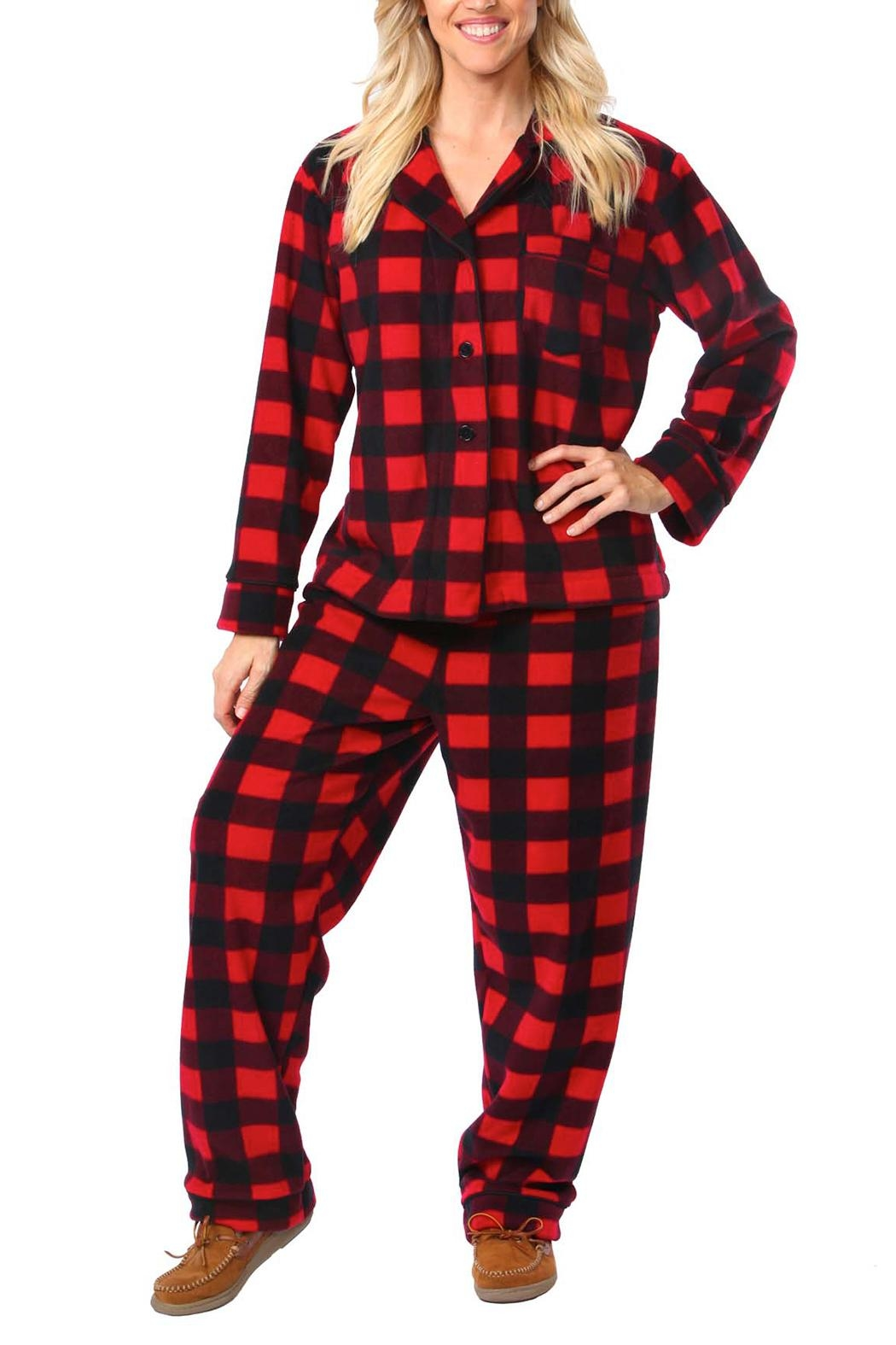 Snug As a Bug Canada Plaid Pajama Set