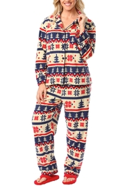 Snug As a Bug Nordic Winter Pajama Set - Product Mini Image