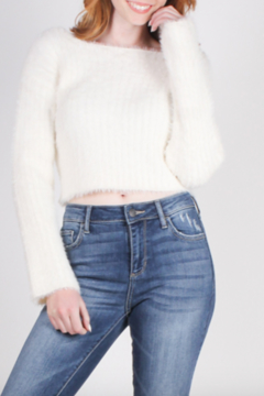 HYFVE Snuggle Up Crop Sweater - Alternate List Image