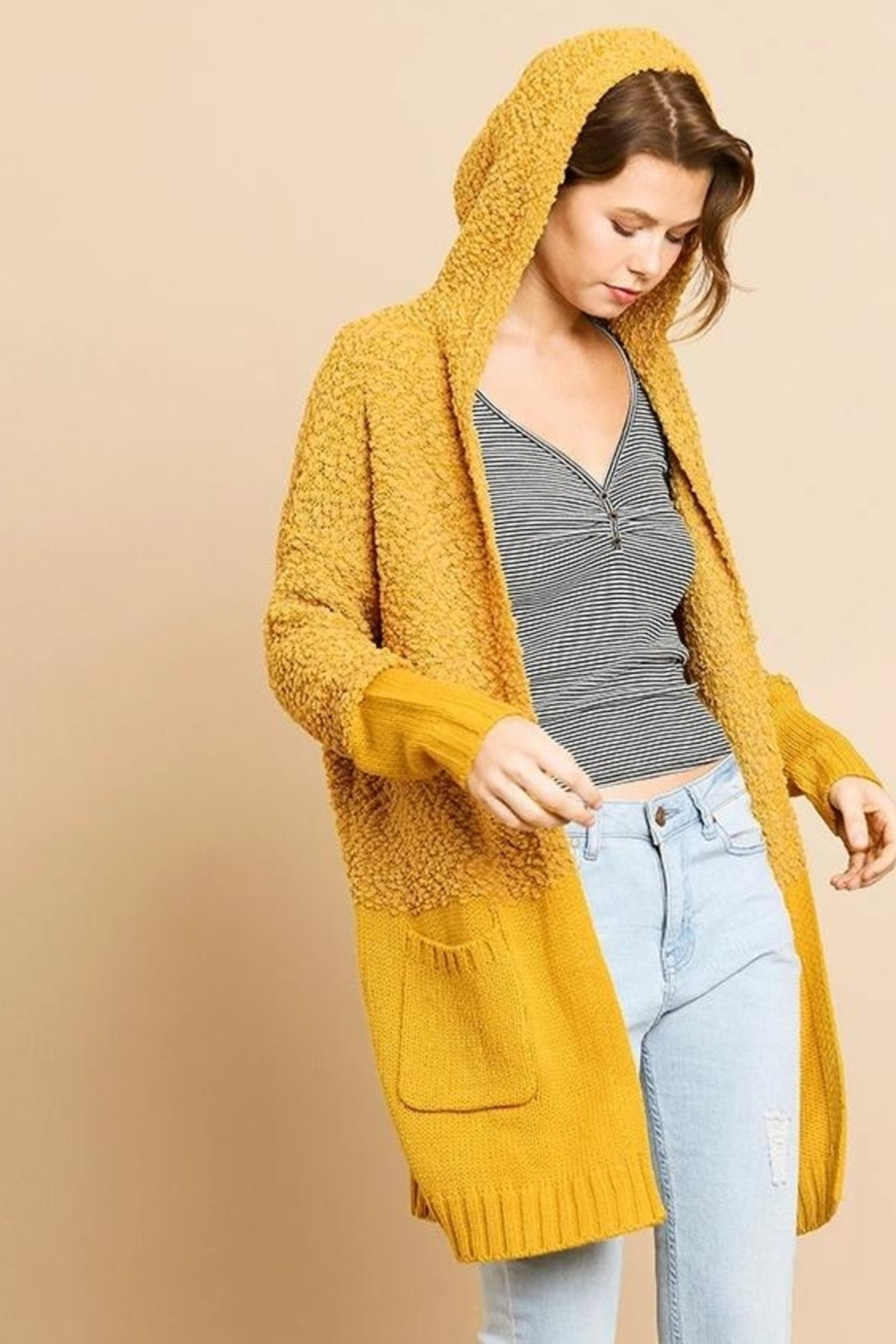 Umgee  So Cozy Cardigan - Front Cropped Image