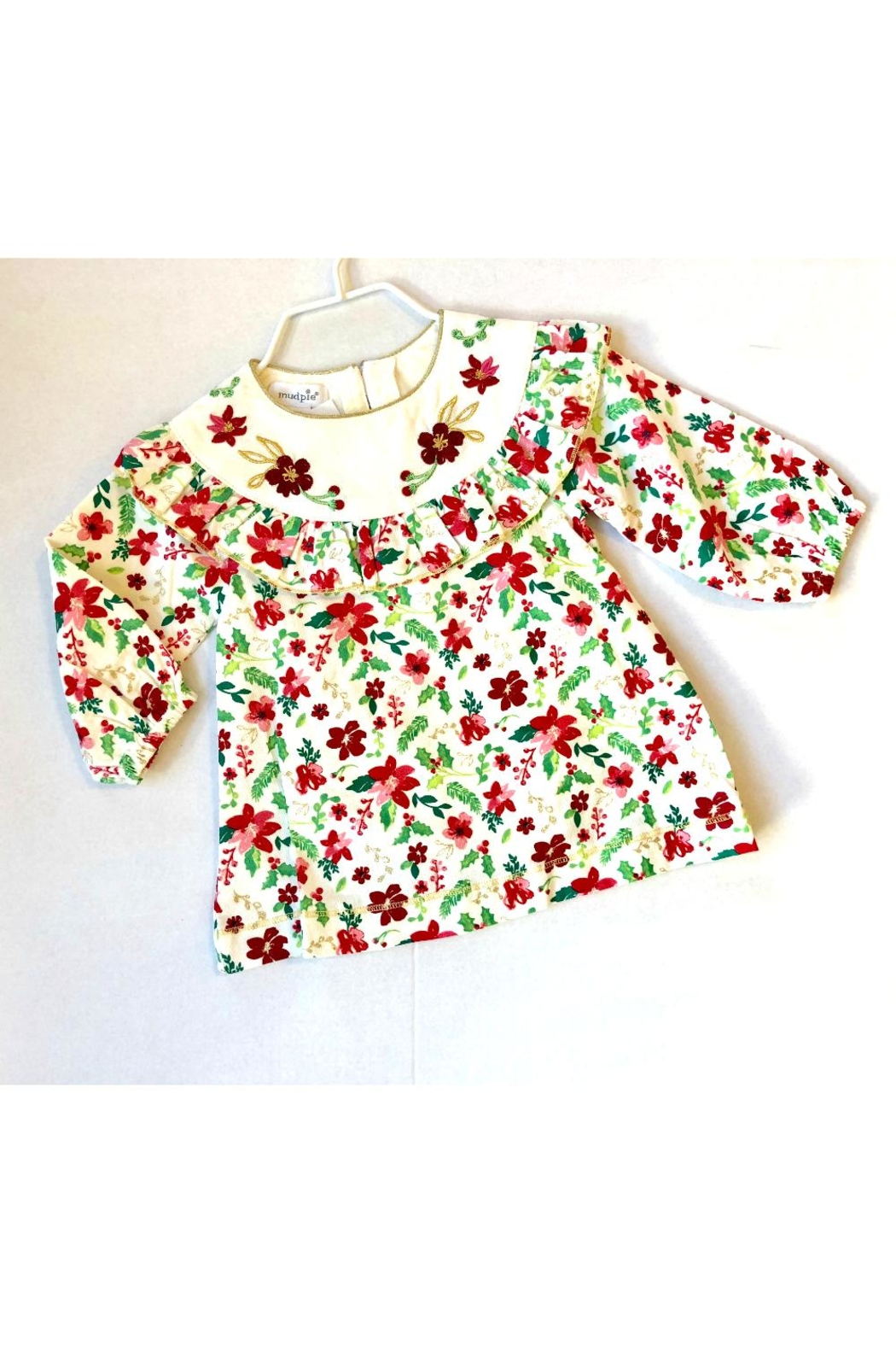 Mud Pie So Merry Dress - Front Cropped Image