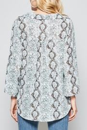 Andree by Unit So Much Snake top - Front full body