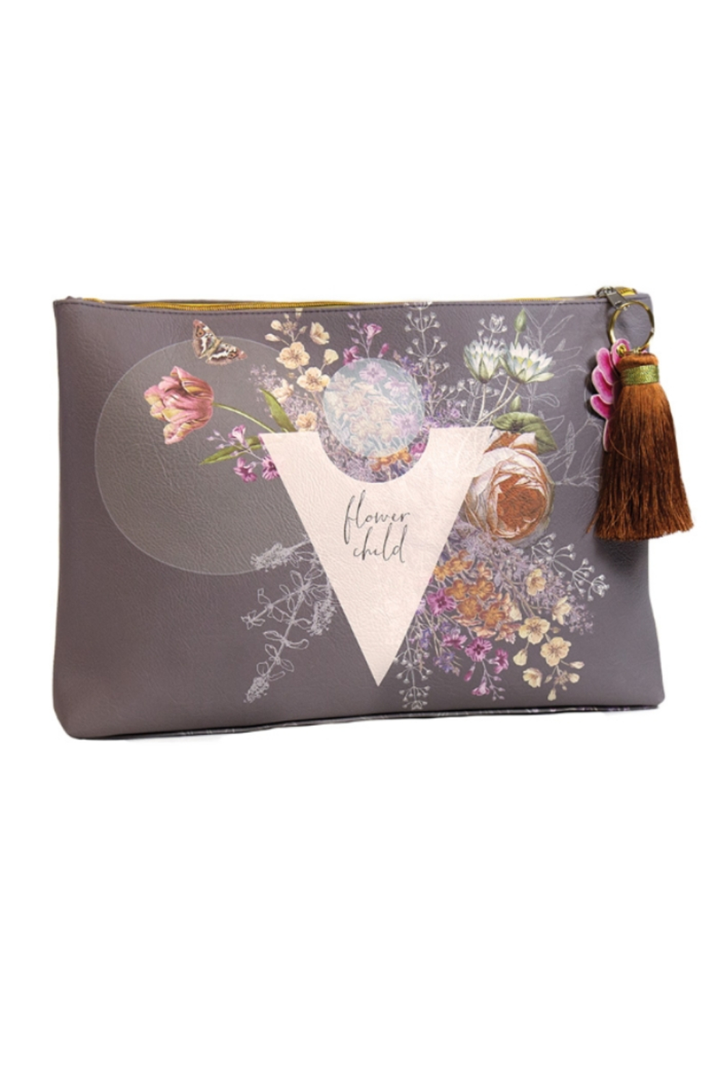 PAPAYA! So Special Large Tassel Pouch - Main Image