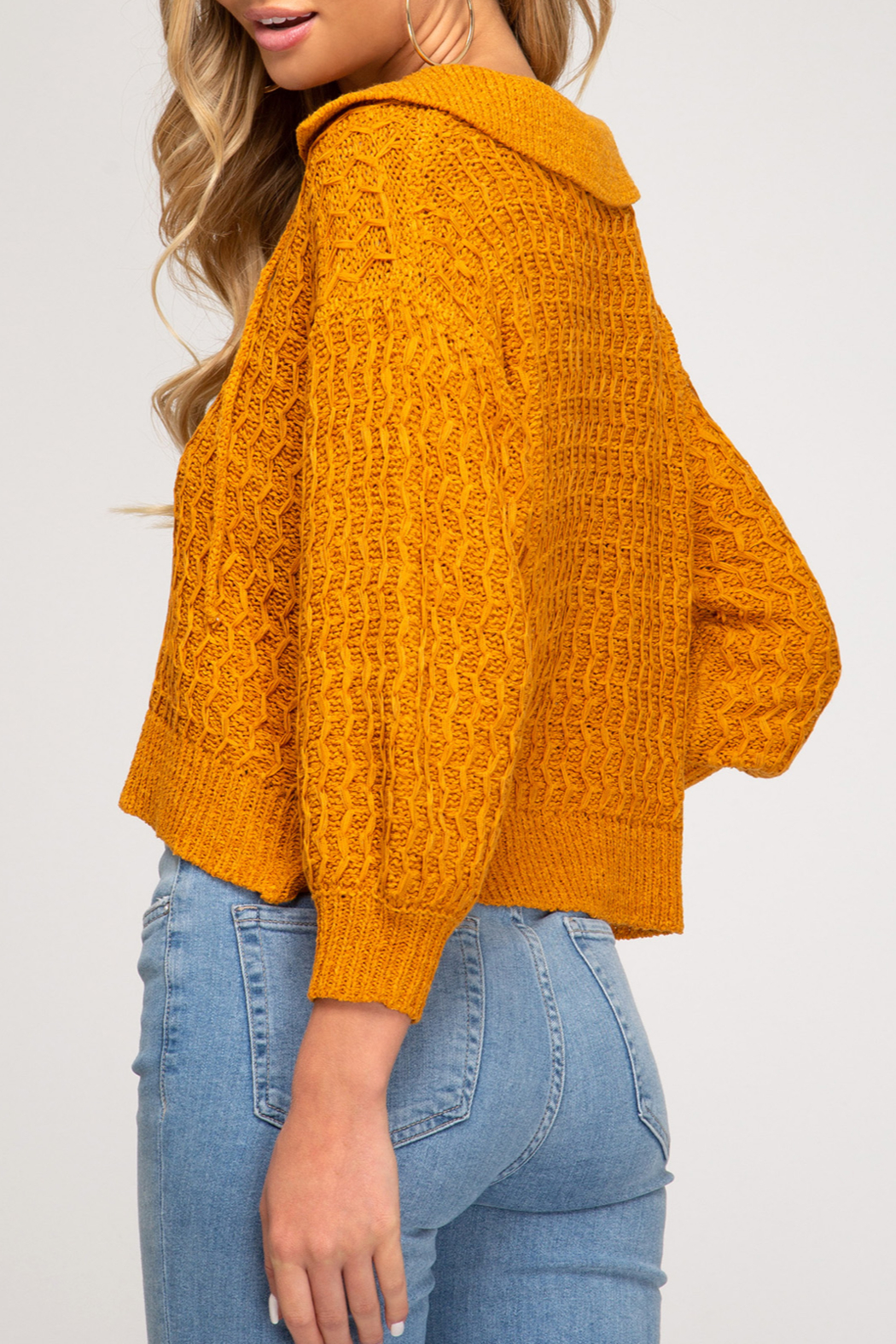 She and Sky So Stylish Sweater - Front Full Image