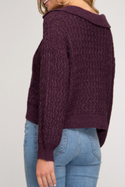 She and Sky So Stylish Sweater - Front full body