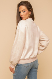 Hem and Thread So Sweet Bomber Jacket - Side cropped