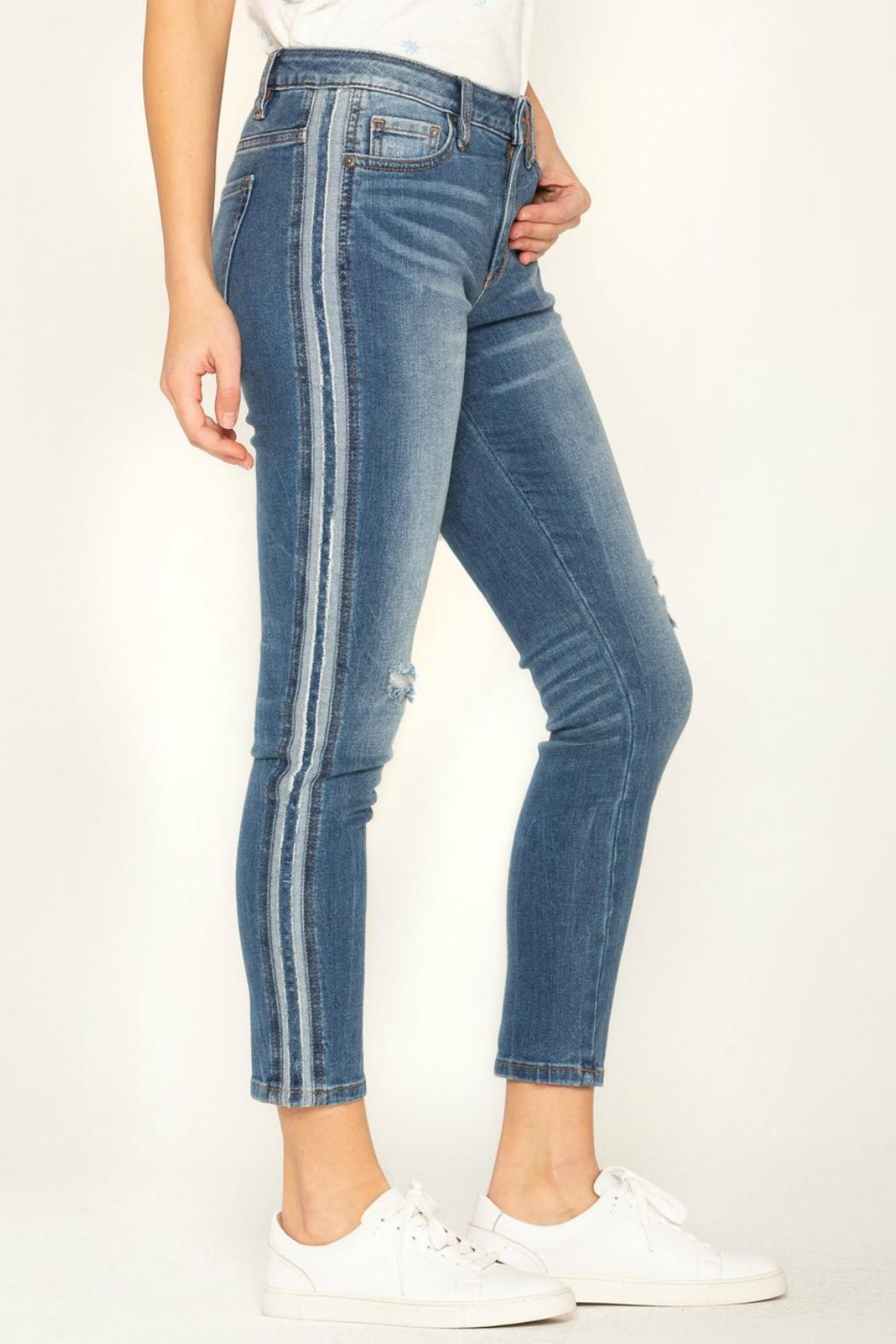 Miss Me So-Torn Mid-Rise Skinny-Jeans - Side Cropped Image