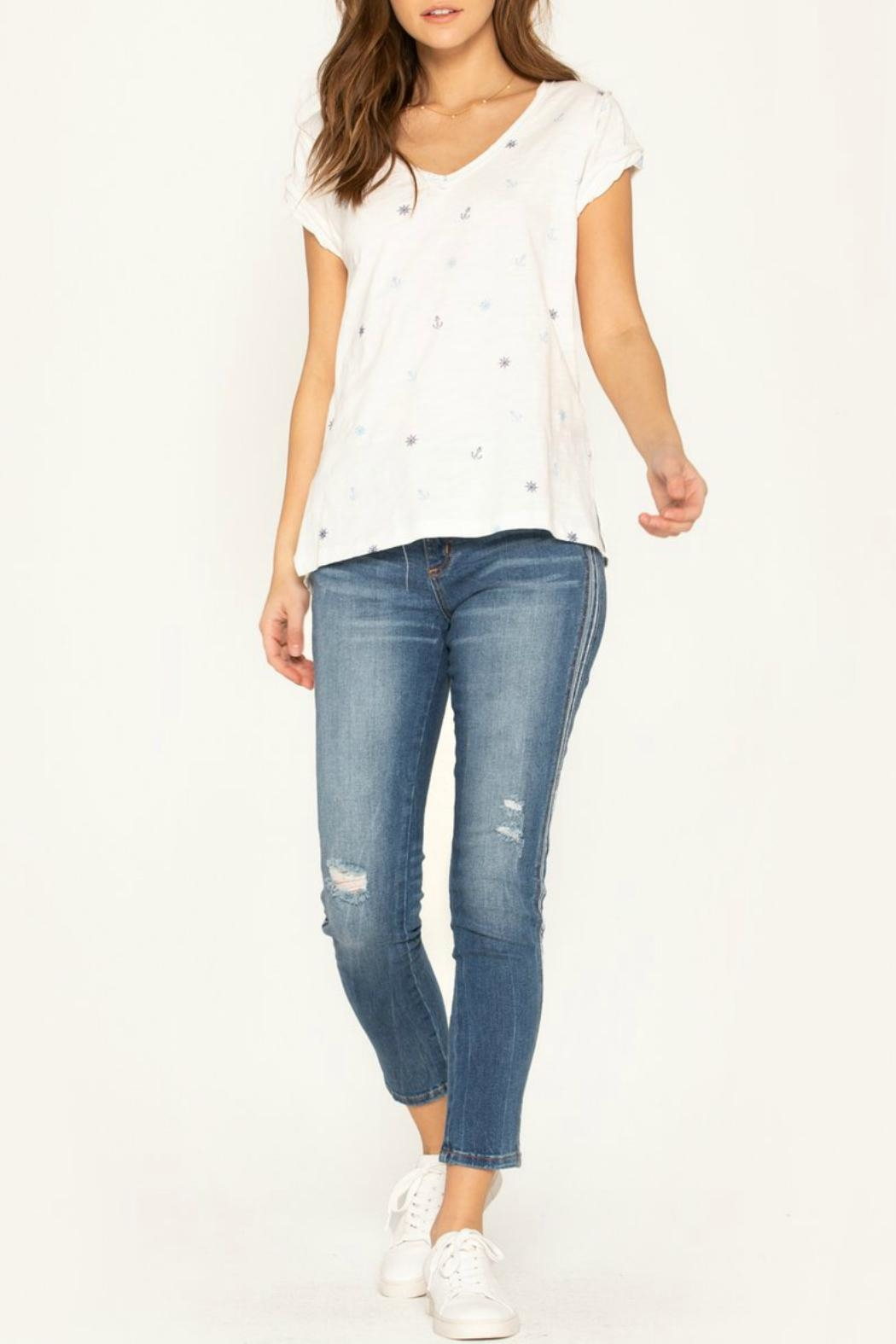 Miss Me So-Torn Mid-Rise Skinny-Jeans - Back Cropped Image