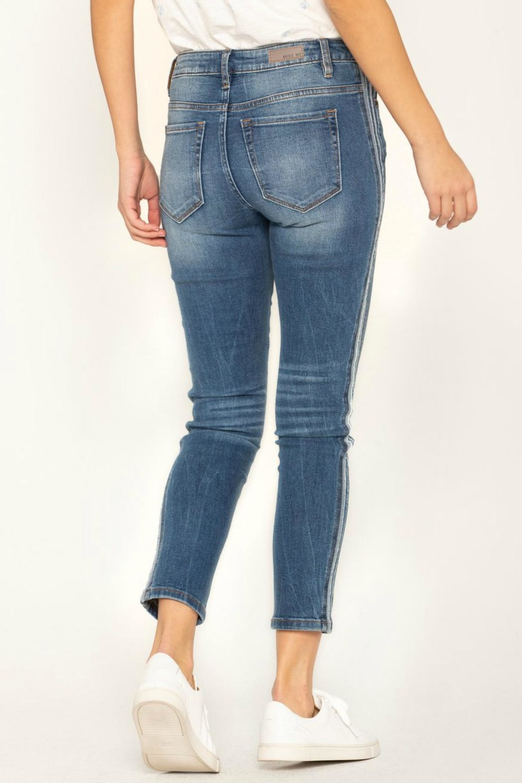 Miss Me So-Torn Mid-Rise Skinny-Jeans - Front Full Image