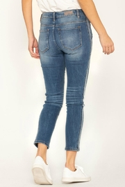 Miss Me So-Torn Mid-Rise Skinny-Jeans - Front full body
