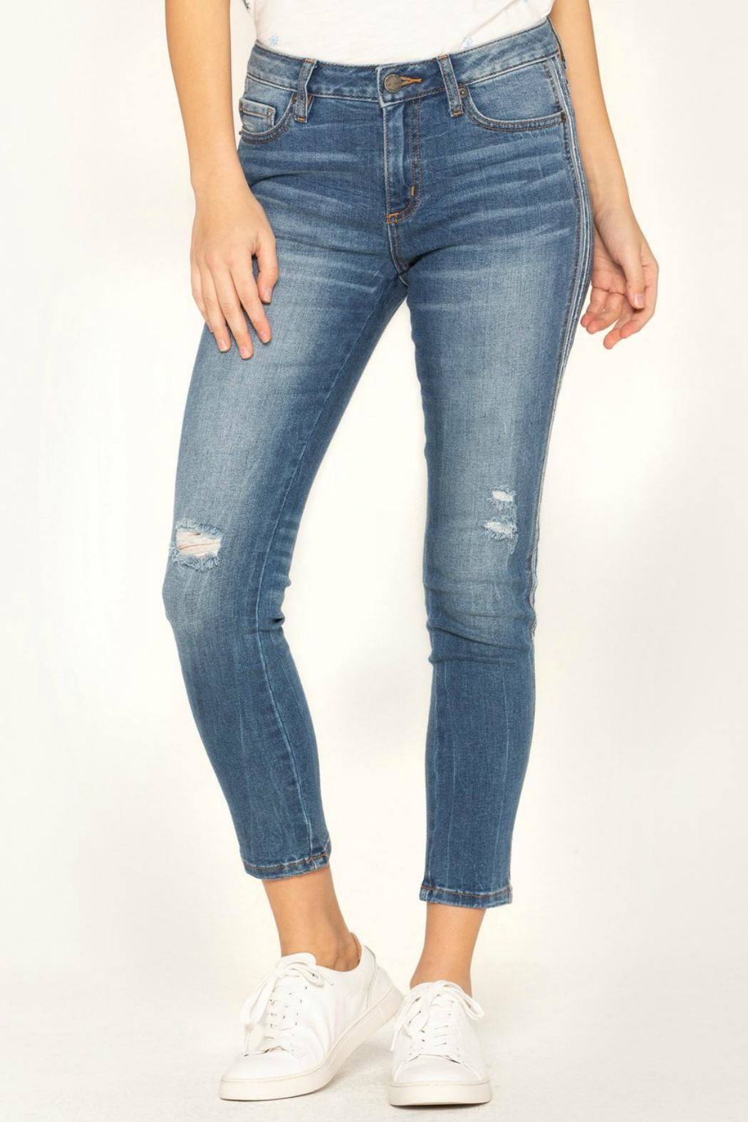 Miss Me So-Torn Mid-Rise Skinny-Jeans - Main Image