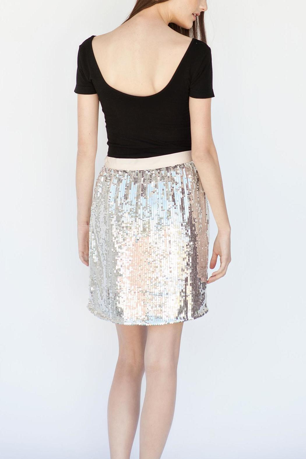 1dfe28e5ac Soaked in Luxury High-Waisted Sequin Skirt from Calgary by Adorn ...