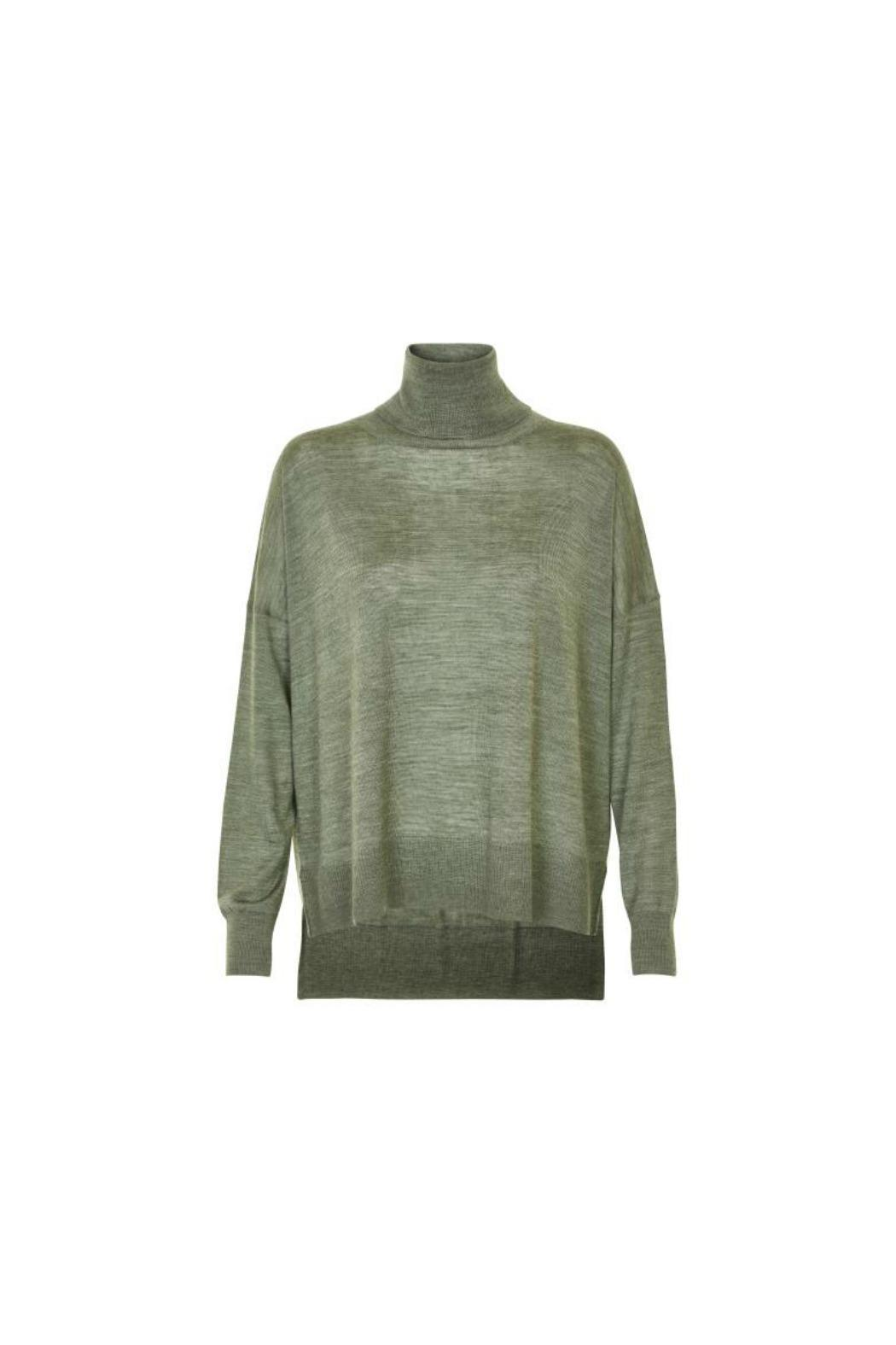 Soaked in Luxury Marella Rollneck Sweater - Main Image