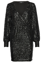 Soaked in Luxury Sequin Black Dress - Product Mini Image
