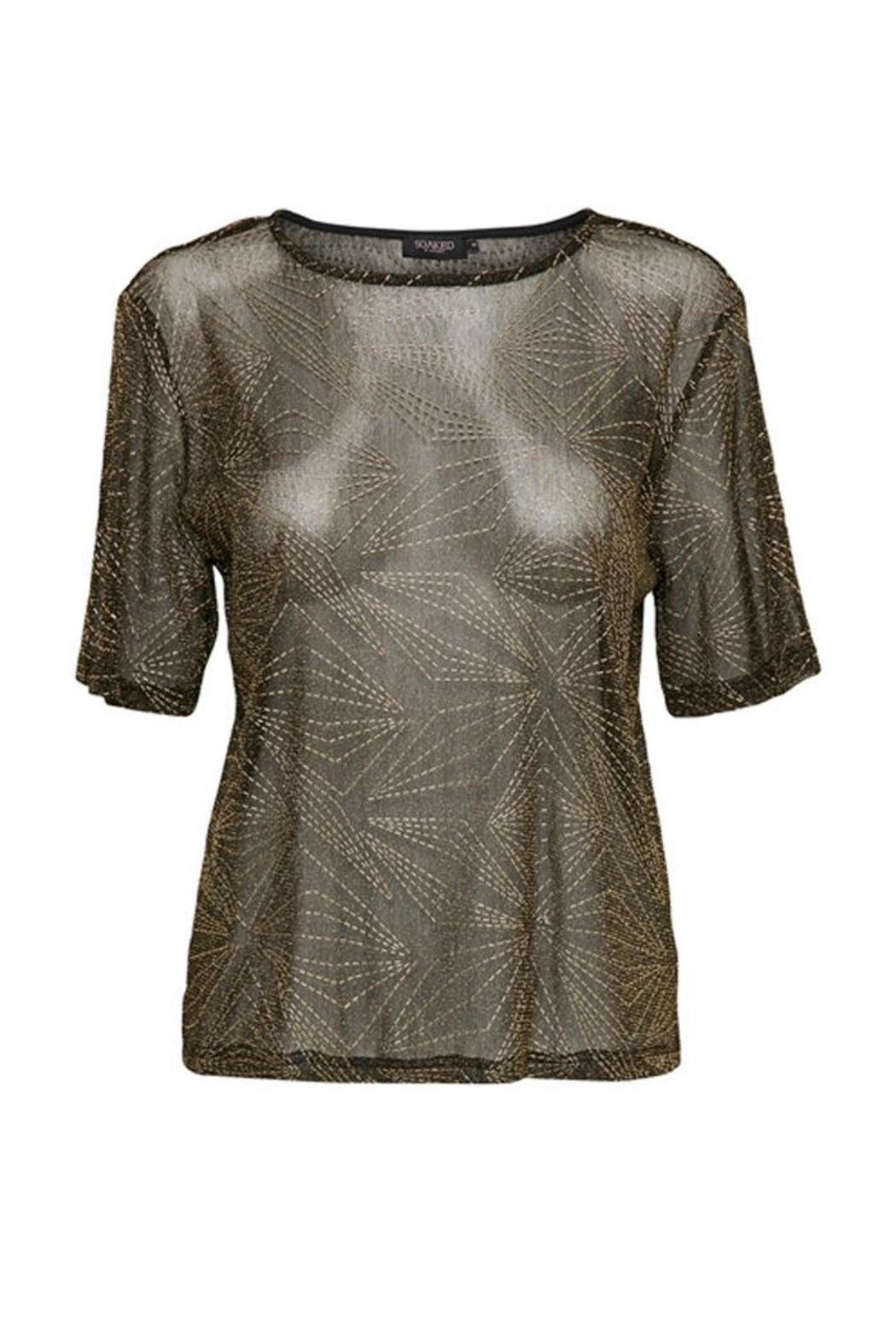 Soaked in Luxury Sparkle-N-Shine Top - Main Image