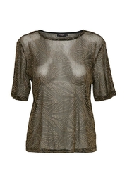 Soaked in Luxury Sparkle-N-Shine Top - Front cropped