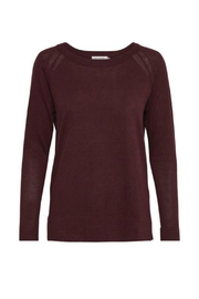 Soaked in Luxury Tua O Neck Knit - Front cropped