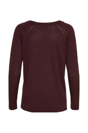 Soaked in Luxury Tua O Neck Knit - Front full body