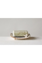 The Birds Nest SOAP DISH WITH BIRD - Front full body