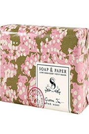 Soap and Paper Factory Green Tea Set - Side cropped