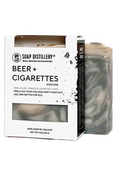 Soap Distillery Beer+cigarettes Soap - Product List Image