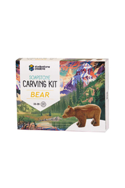 Studiostone Creative Soapstone Carving Kit: Bear - Product Mini Image