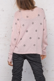 Wooden Ships Soccer Ball Sweater - Back cropped