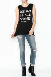 Social decay Palm Springs Tee - Side cropped