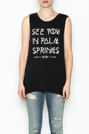 Social decay Palm Springs Tee - Front full body